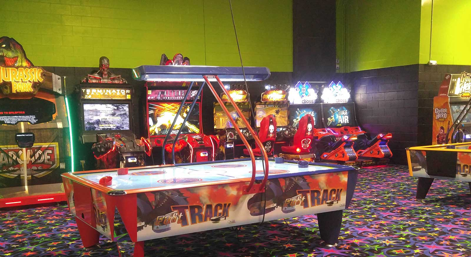 Arcade Games in Rhode Island