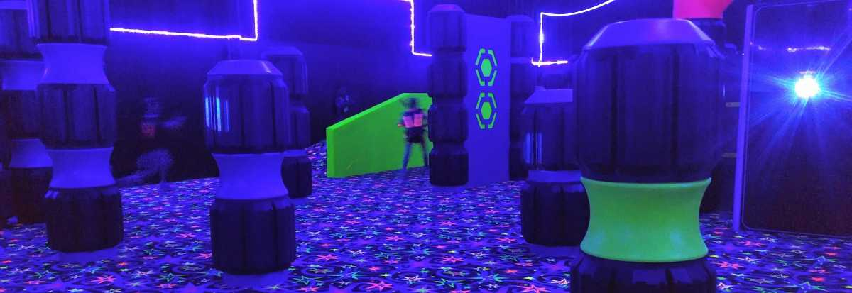Play Laser Tag Lincoln, Rhode Island