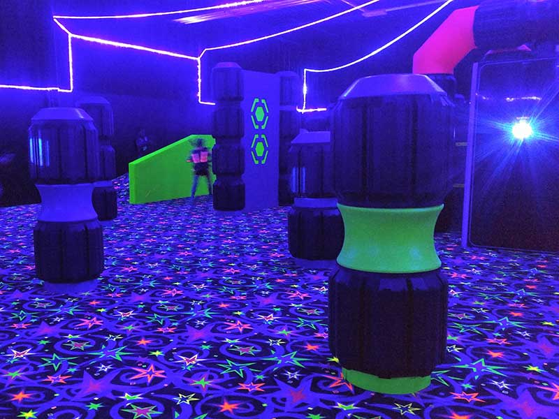 Play Lazer Tag in Rhode Island